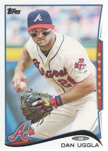 Photo of 2014 Topps #365 Dan Uggla