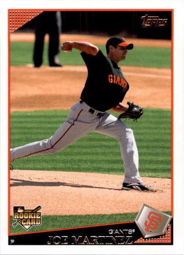 Photo of 2009 Topps #373 Joe Martinez RC