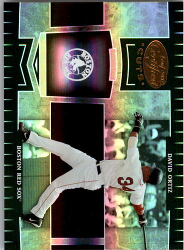 Photo of 2004 Leaf Certified Cuts #39 David Ortiz