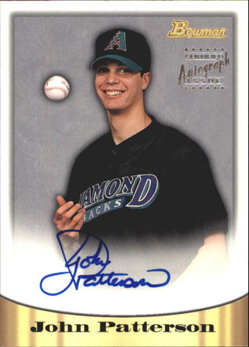 Photo of 1998 Bowman Certified Silver Autographs #66 John Patterson