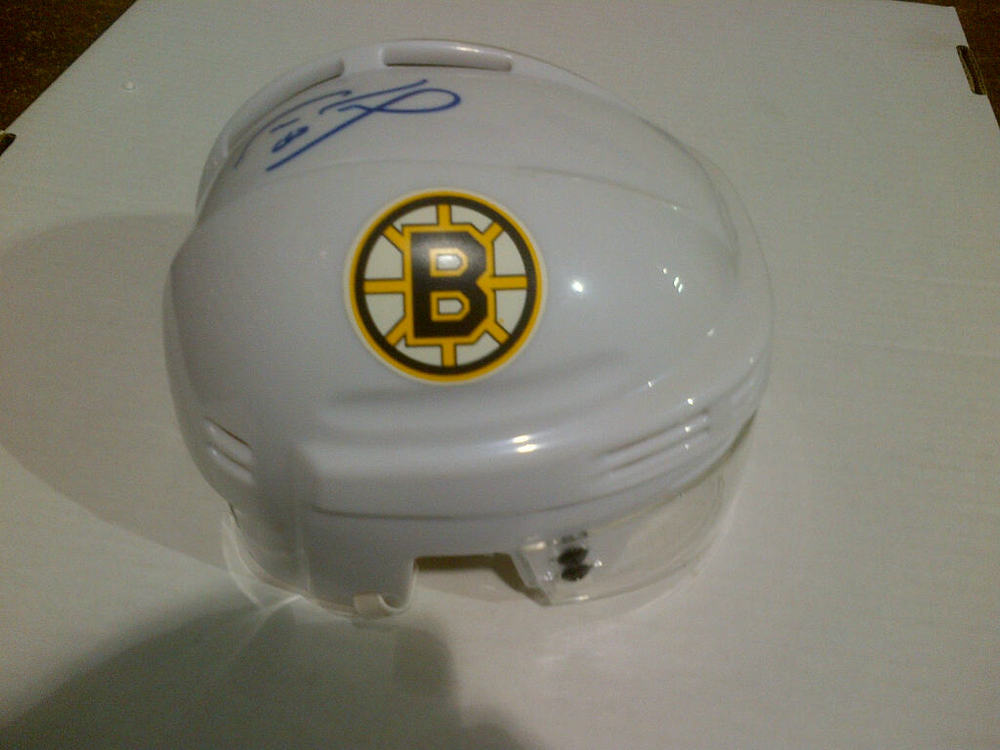 CAM NEELY Boston Bruins SIGNED Mini-Helmet