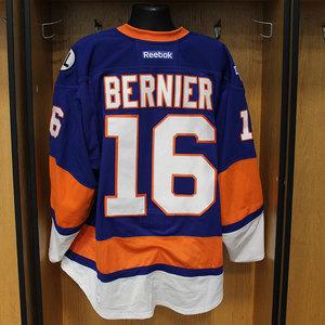 Steve Bernier - Game Worn Home Jersey - 2015-16 Season - New York Islanders