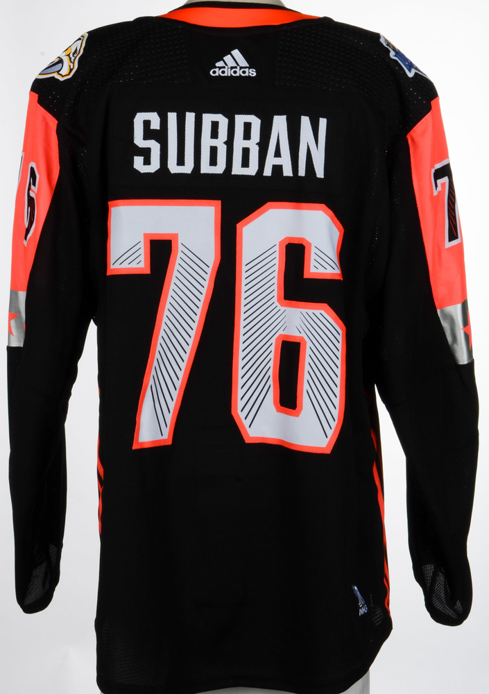 P.K. Subban Nashville Predators Player-Issued 2018 All-Star Game Jersey