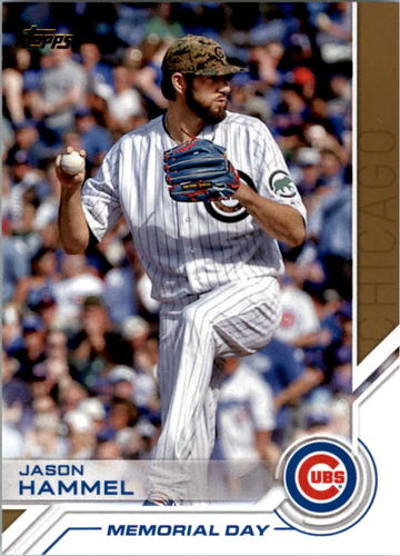 Photo of 2017 Topps Salute #S41 Jason Hammel