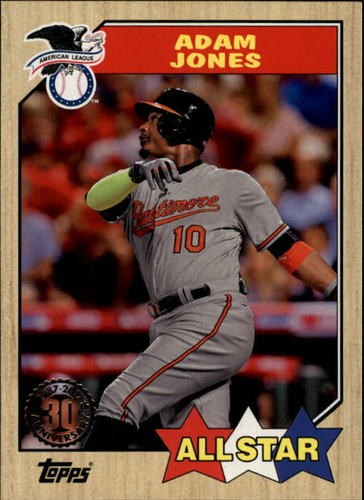 Photo of 2017 Topps '87 Topps #87147 Adam Jones