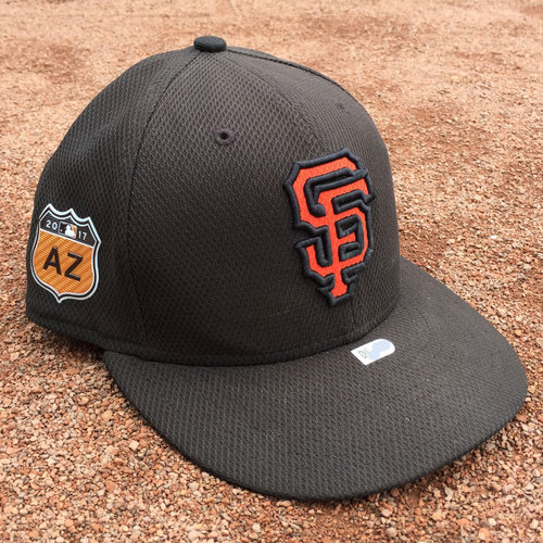 San Francisco Giants - Game-Used Cap - Spring Training - Ty Blach