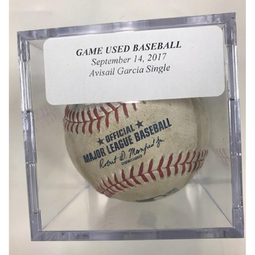 Photo of Game-Used Baseball: Avisail Garcia Single