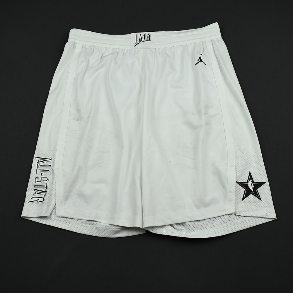 Anthony Davis - 2018 NBA All-Star Game - Team LeBron - Game-Worn Shorts - 1st Half Only
