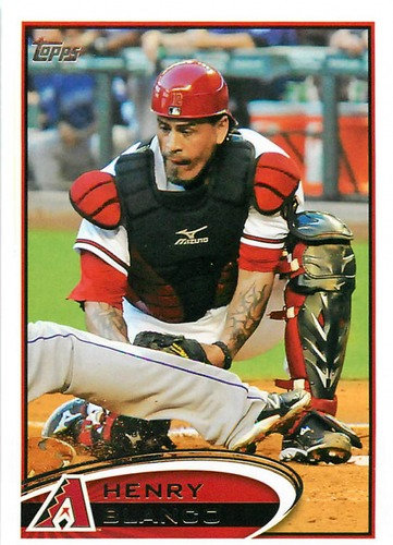Photo of 2012 Topps Update #US193 Henry Blanco