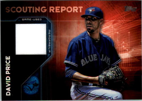 Photo of 2016 Topps Scouting Report Relics #SRRDPR David Price