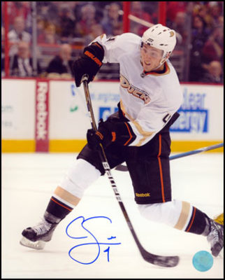 CAM FOWLER Anaheim Ducks SIGNED 16x20 Action Photo