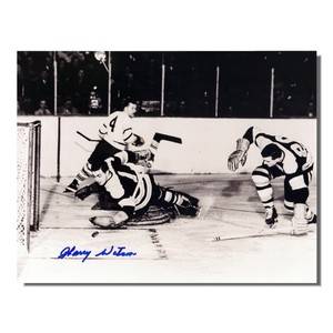 Harry Watson (deceased) Autographed Toronto Maple Leafs 8x10 Photo