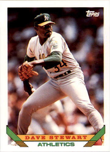 Photo of 1993 Topps #290 Dave Stewart