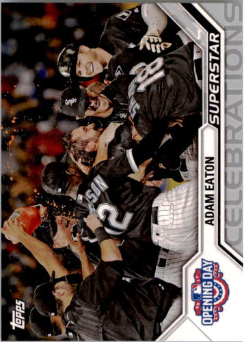 Photo of 2017 Topps Opening Day Superstar Celebrations #SC11 Adam Eaton