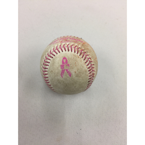 May 14, 2017 Rays at Red Sox Game-Used Ball