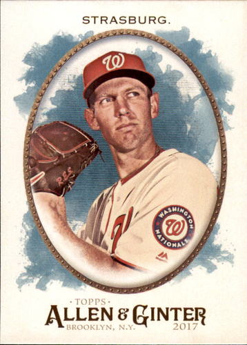 Photo of 2017 Topps Allen and Ginter #271 Stephen Strasburg