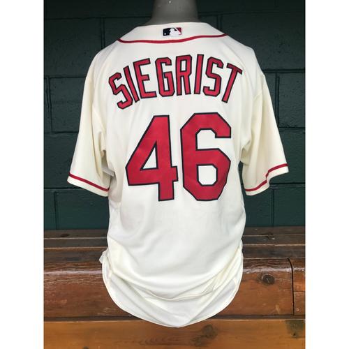 Photo of Cardinals Authentics: Kevin Siegrist Game Worn Saturday Alternate Jersey