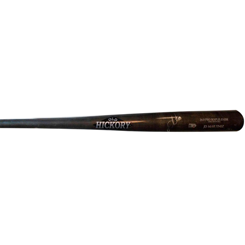 Photo of Detroit Tigers JD Martinez Autographed Game-Used Bat