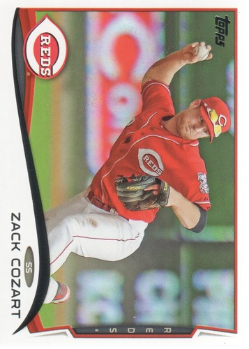 Photo of 2014 Topps #366 Zack Cozart