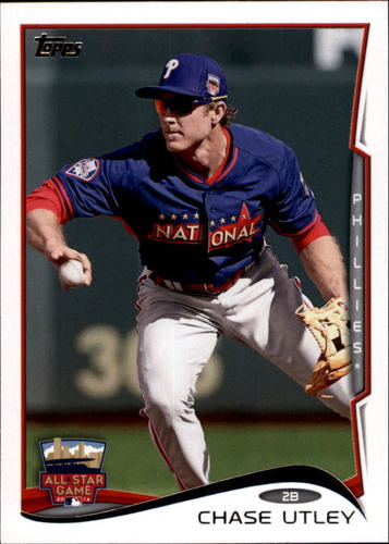 Photo of 2014 Topps Update #US292 Chase Utley