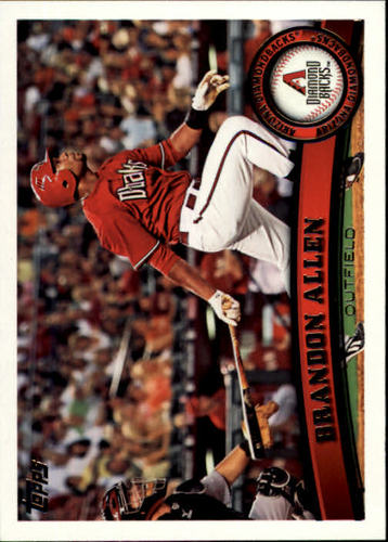 Photo of 2011 Topps #457 Brandon Allen