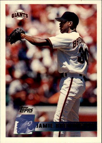 Photo of 1996 Topps #331 Jamie Brewington RC