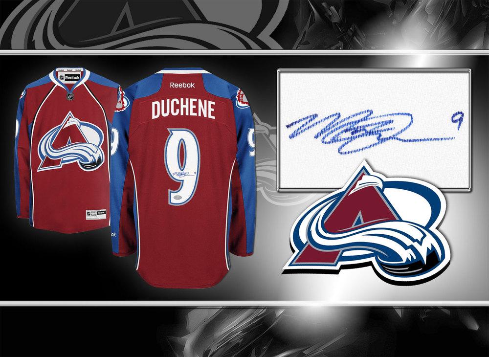 Matt Duchene Colorado Avalanche RBK Premier Autographed Jersey
