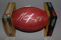 CHARGERS - MELVIN GORDON SIGNED AUTHENTIC FOOTBALL