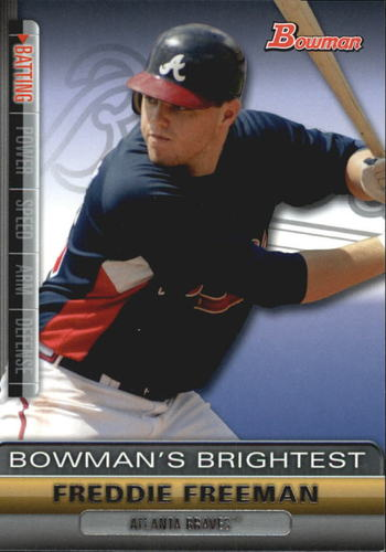 Photo of 2011 Bowman Bowman's Brightest #BBR16 Freddie Freeman