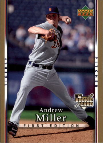 Photo of 2007 Upper Deck First Edition #18 Andrew Miller RC