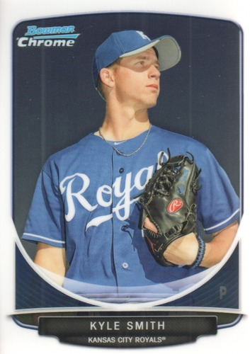 Photo of 2013 Bowman Chrome Prospects #BCP205 Kyle Smith