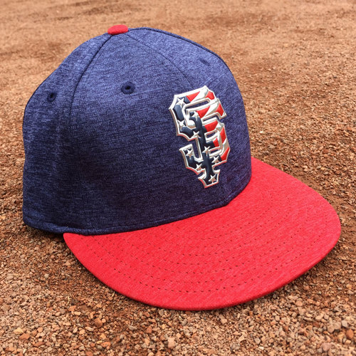 San Francisco Giants - Game-Used Cap - 4th of July - Kyle Crick
