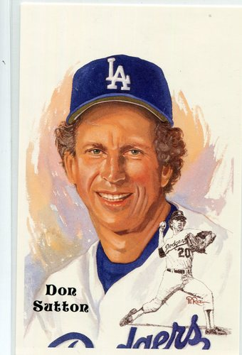 Photo of 1980-02 Perez-Steele Hall of Fame Postcards #237 Don Sutton -- Set #08689