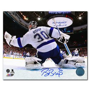 Ben Bishop Tampa Bay Lightning NET CAM Autographed 16X20