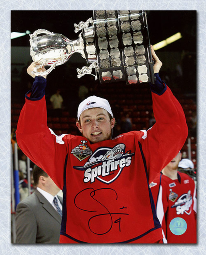 Cam Fowler Windsor Spitfires Autographed Memorial Cup 8x10 Photo