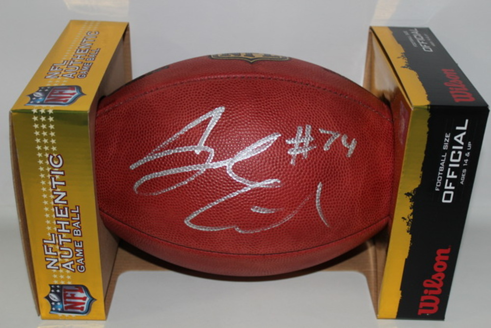 NFL - TITANS JACK CONKLIN SIGNED AUTHENTIC FOOTBALL