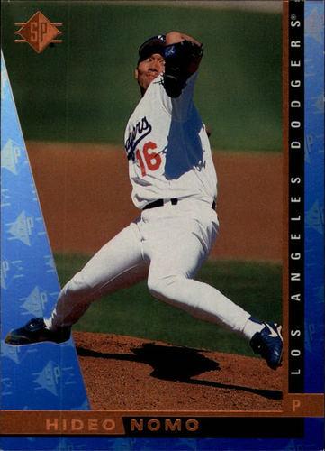 Photo of 1997 SP #92 Hideo Nomo