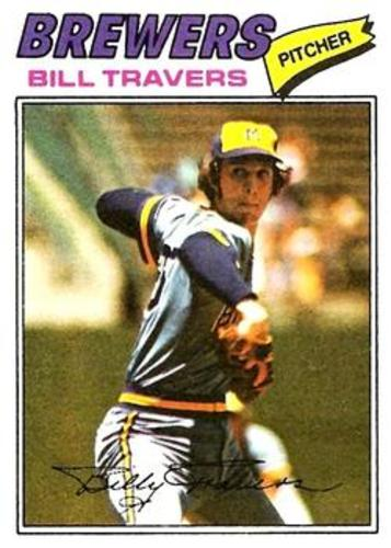 Photo of 1977 Topps #125 Bill Travers