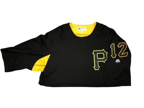 #12 Team-Issued Batting Practice Jersey