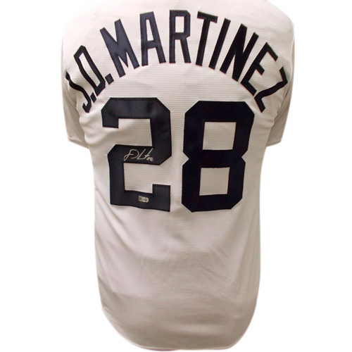 Photo of Detroit Tigers JD Martinez Autographed Jersey