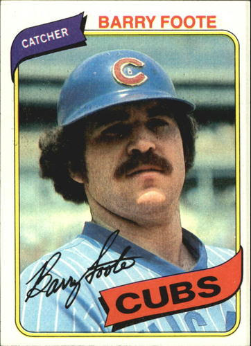 Photo of 1980 Topps #398 Barry Foote