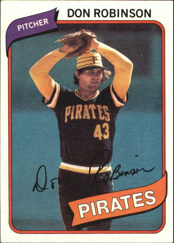 Photo of 1980 Topps #719 Don Robinson