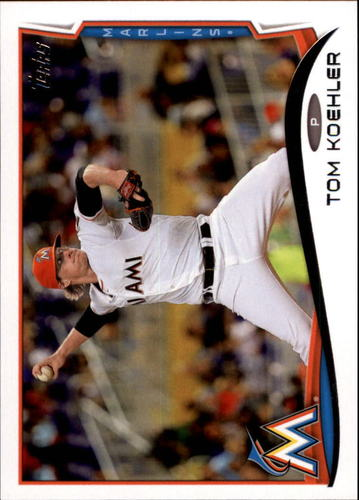 Photo of 2014 Topps Update #US293 Tom Koehler