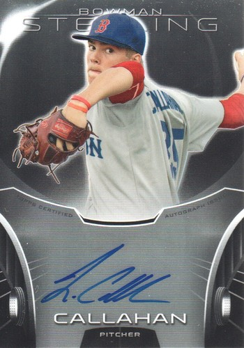 Photo of 2013 Bowman Sterling Prospect Autographs #JCA Jamie Callahan