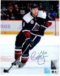 Erik Johnson - Signed 8x10