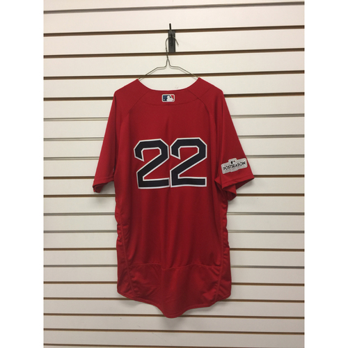 Photo of Rick Porcello Team-Issued 2017 Home Alternate Jersey