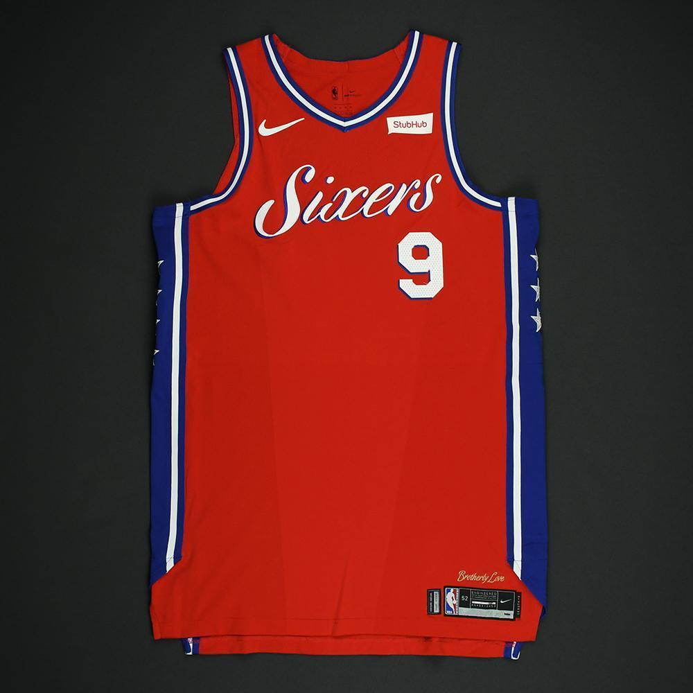 Dario Saric - Philadelphia 76ers - NBA Christmas Day '17 'Statement' Game-Worn Jersey