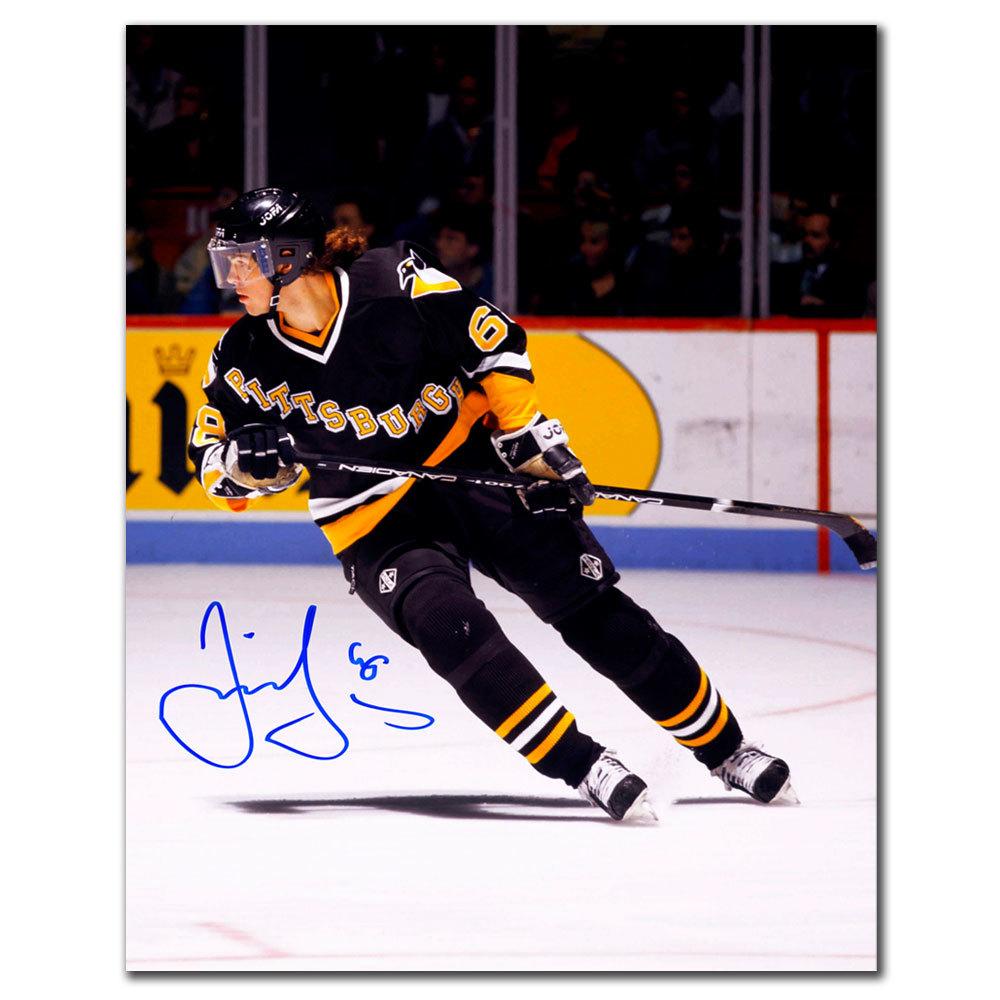 Jaromir Jagr Pittsburgh Penguins BREAKOUT Autographed 8x10