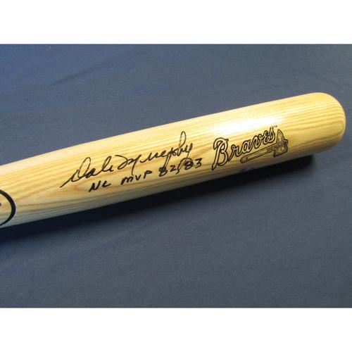 Photo of Braves Charity Auction - Dale Murphy Autographed Bat