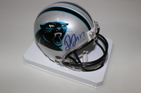 PANTHERS - DEVIN FUNCHESS SIGNED PANTHERS MINI HELMET